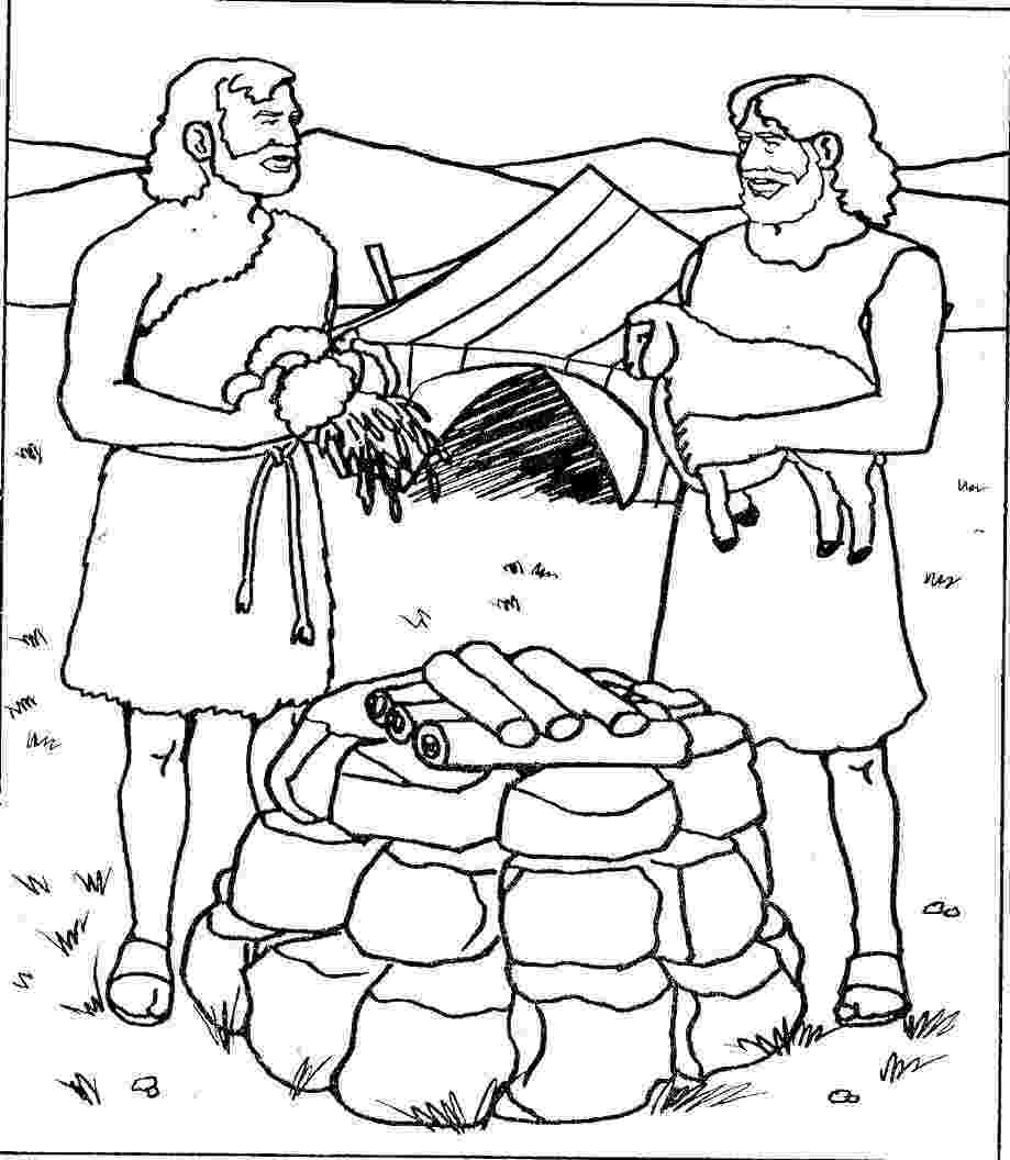cain and abel coloring sheet cain and abel coloring page coloring home and abel coloring sheet cain