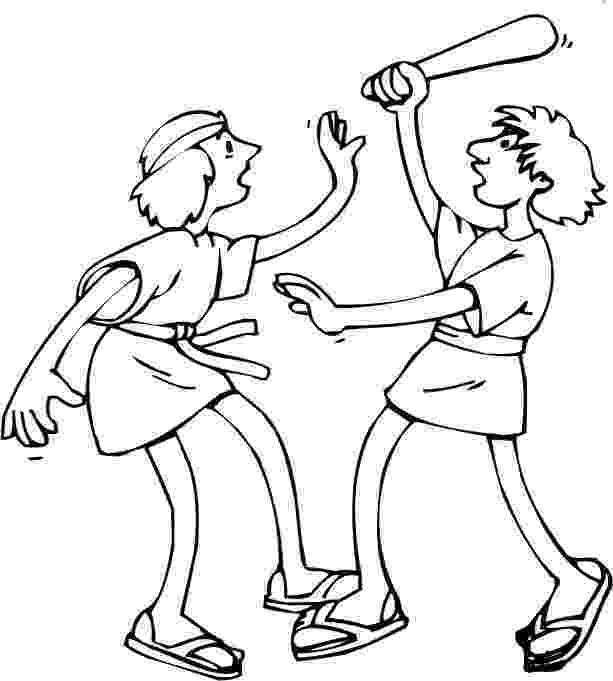 cain and abel coloring sheet cain and abel coloring page coloring home cain coloring sheet abel and
