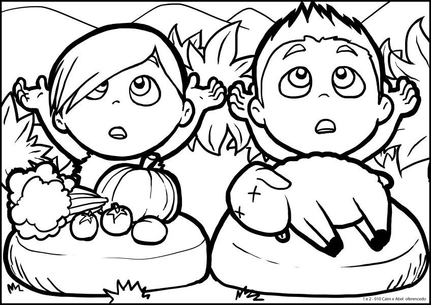 cain and abel coloring sheet cain and abel coloring page free printable coloring pages and sheet cain coloring abel