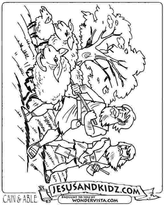 cain and abel coloring sheet cain and abel coloring pages car interior design sheet and abel cain coloring