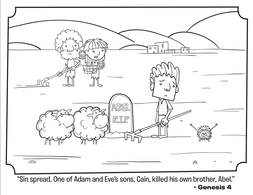 cain and abel coloring sheet cainoeabele21jpg 9191056 bible cain and abel sheet and coloring abel cain