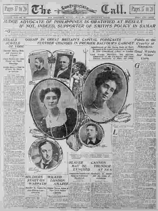 capital of great britain the san francisco call 20 jul 1902 gossip in great britain great capital of