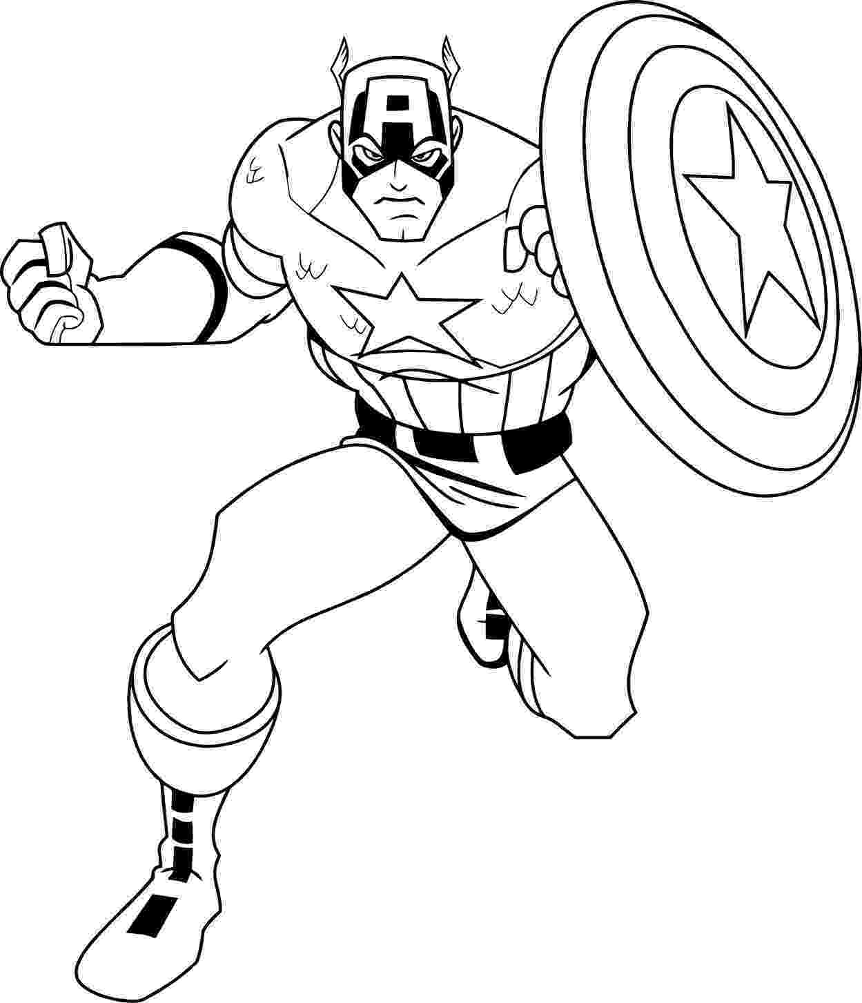 captain america colouring pages captain america captain america kids coloring pages captain colouring america pages
