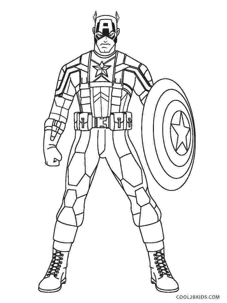 captain america colouring pages captain america captain america kids coloring pages pages colouring captain america