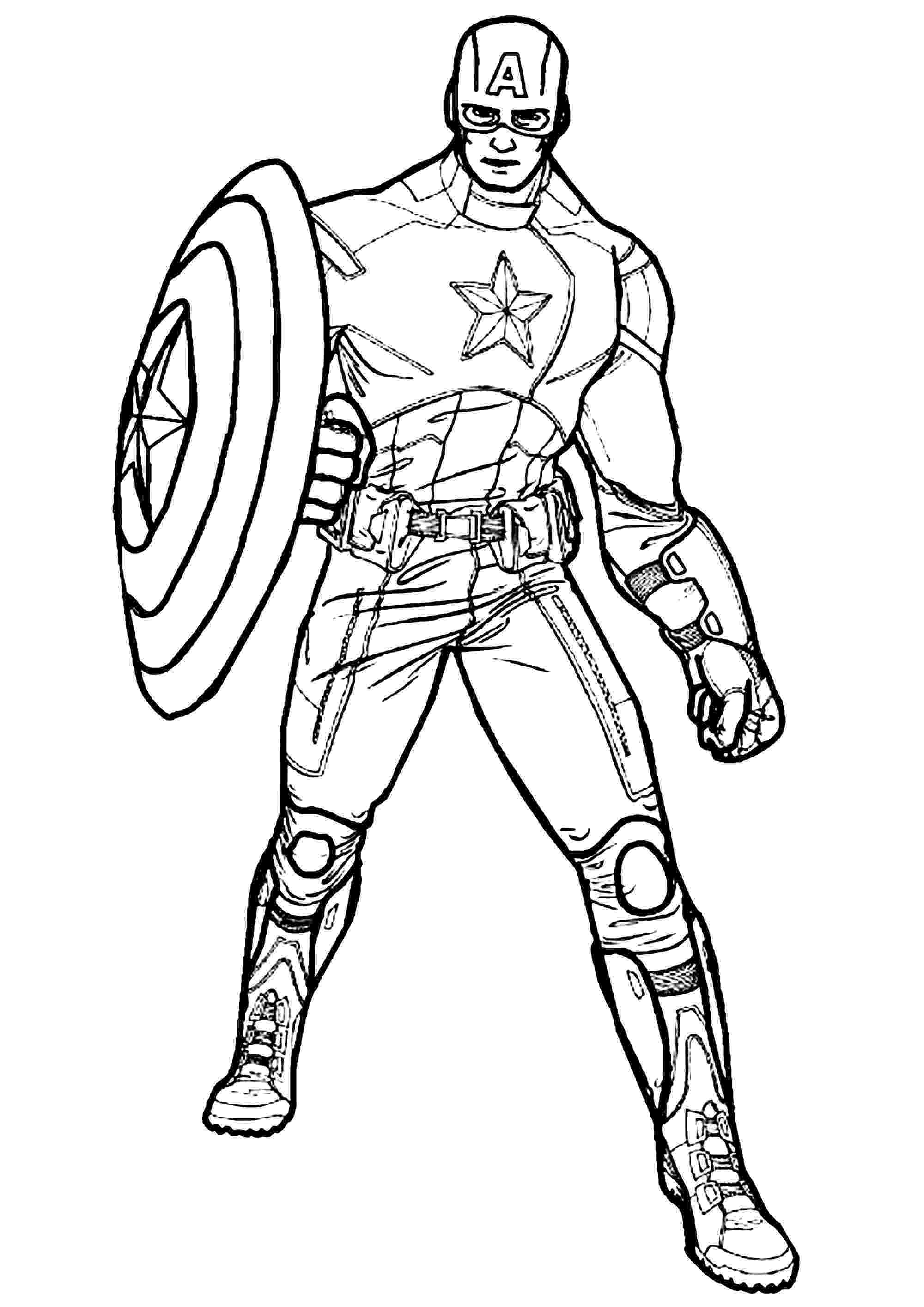 captain america printable captain america captain america kids coloring pages america printable captain