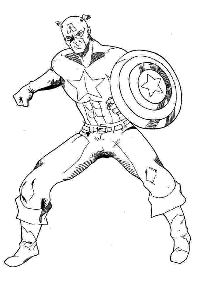 captain america printable captain america coloring pages 360coloringpages printable captain america