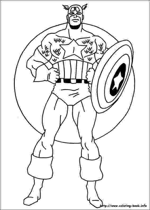 captain america printable captain america coloring pages captain printable america