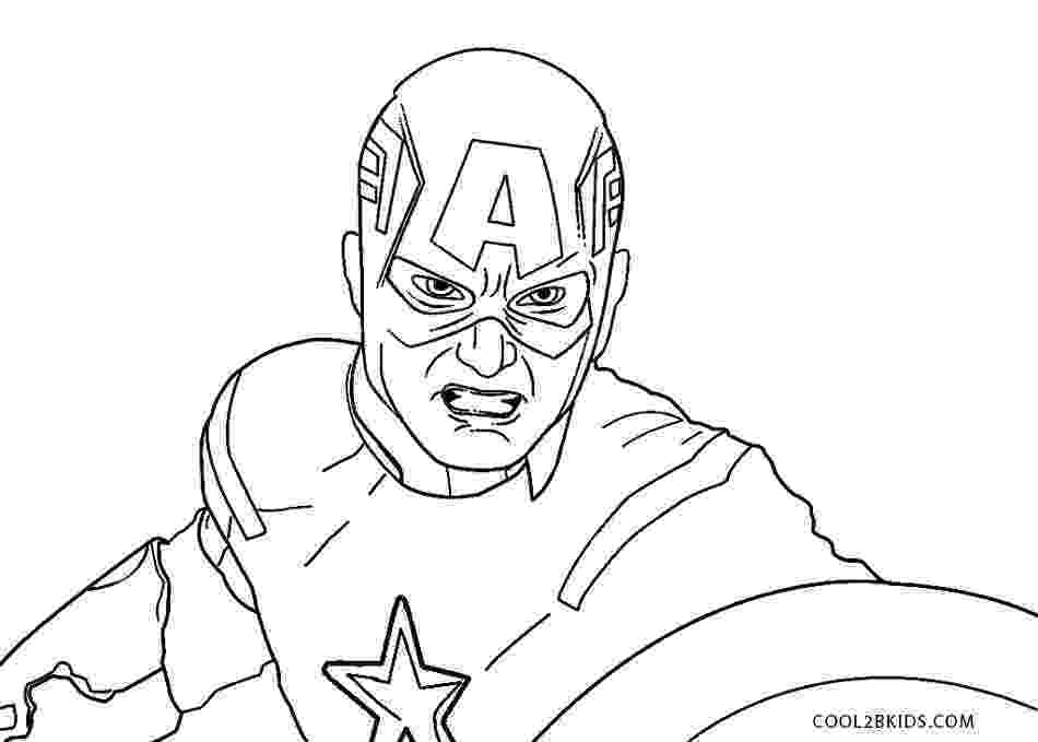captain america printable free printable captain america coloring pages for kids america captain printable