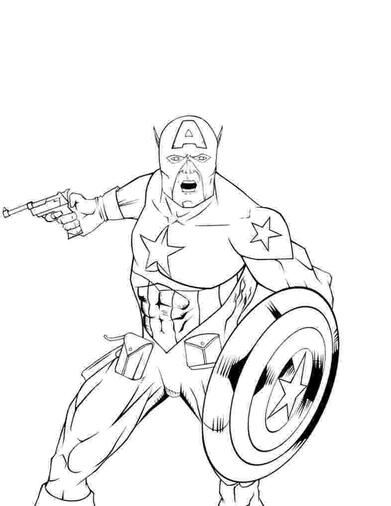 captain america printable free printable captain america coloring pages for kids america printable captain 1 2