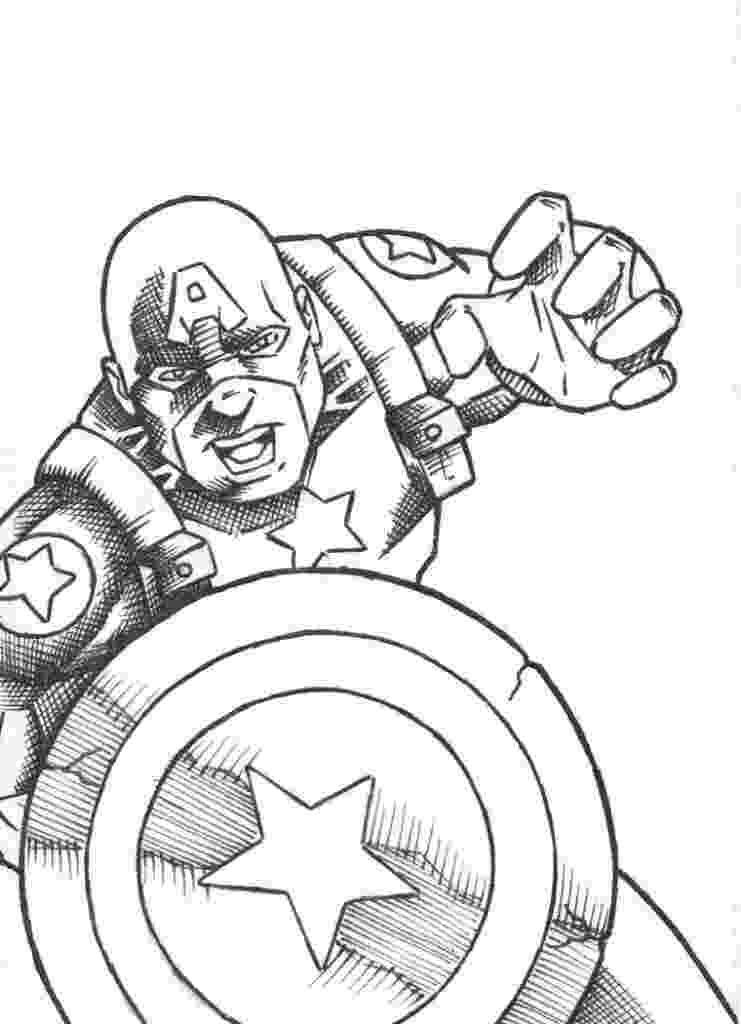 captain america printable free printable captain america coloring pages for kids captain printable america 1 1