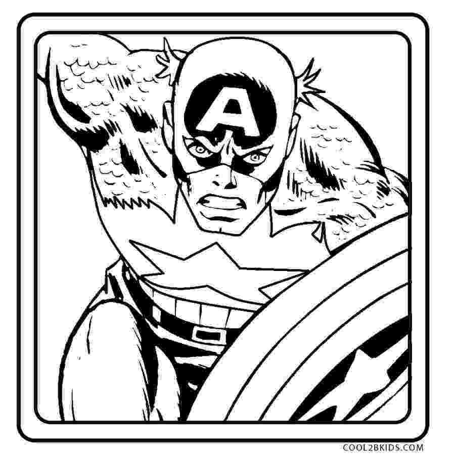 captain america printable free printable captain america coloring pages for kids captain printable america 1 2