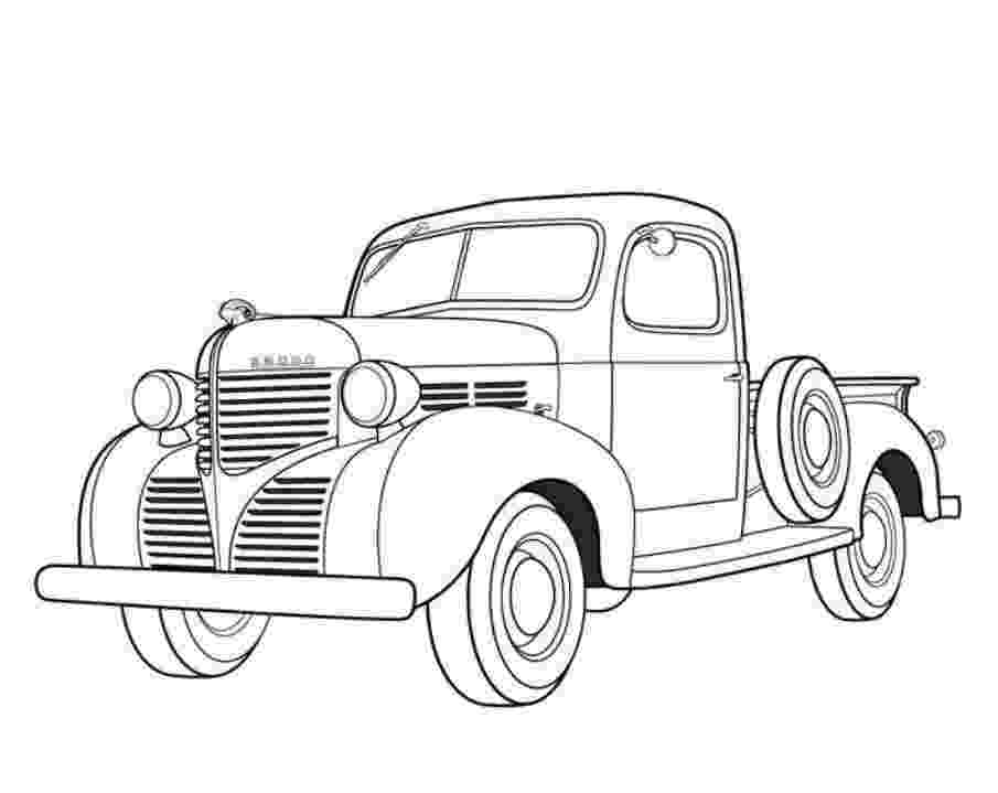 car and truck coloring pages handmade by paula mwt masculine cards and pages truck coloring car