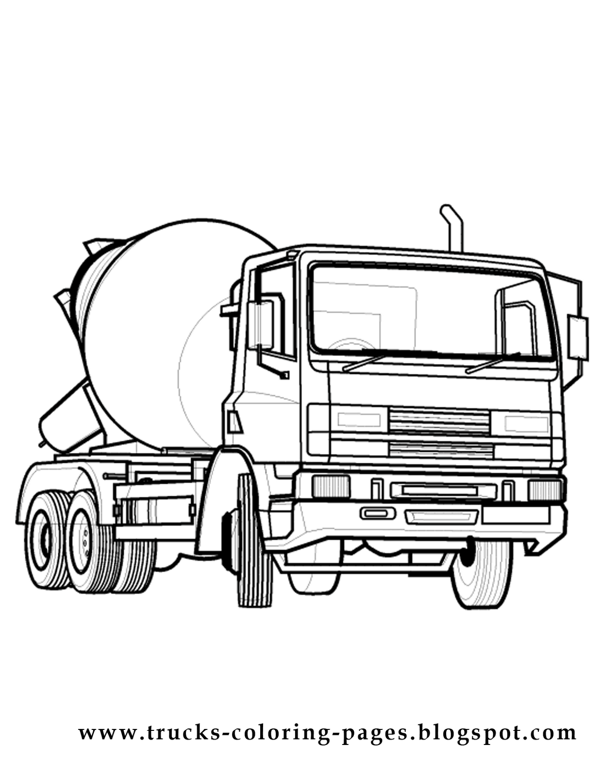 car and truck coloring pages how about coloring a mack super liner truck a dedicated car and coloring pages truck