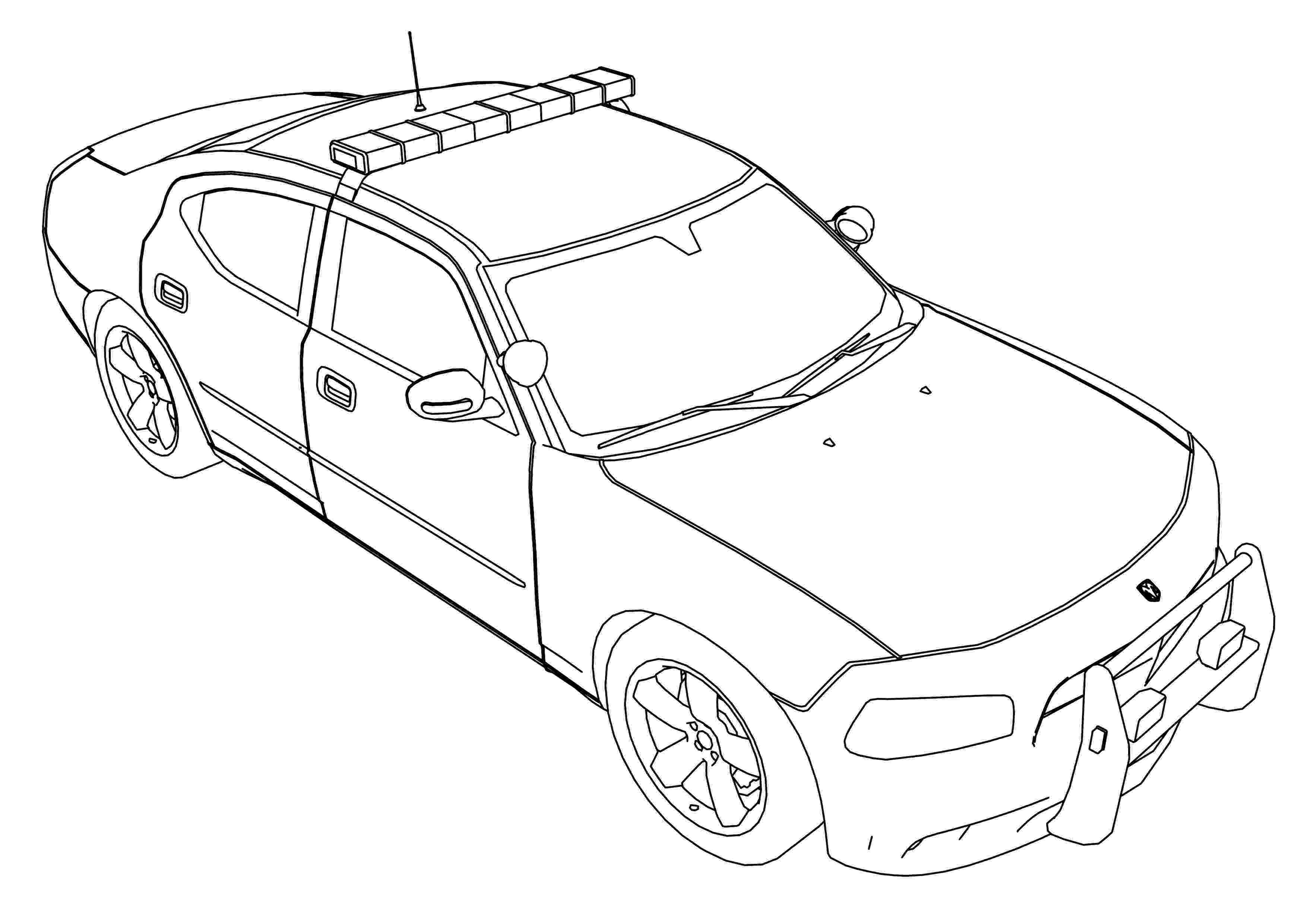 car coloring sheet police car coloring pages to download and print for free coloring sheet car