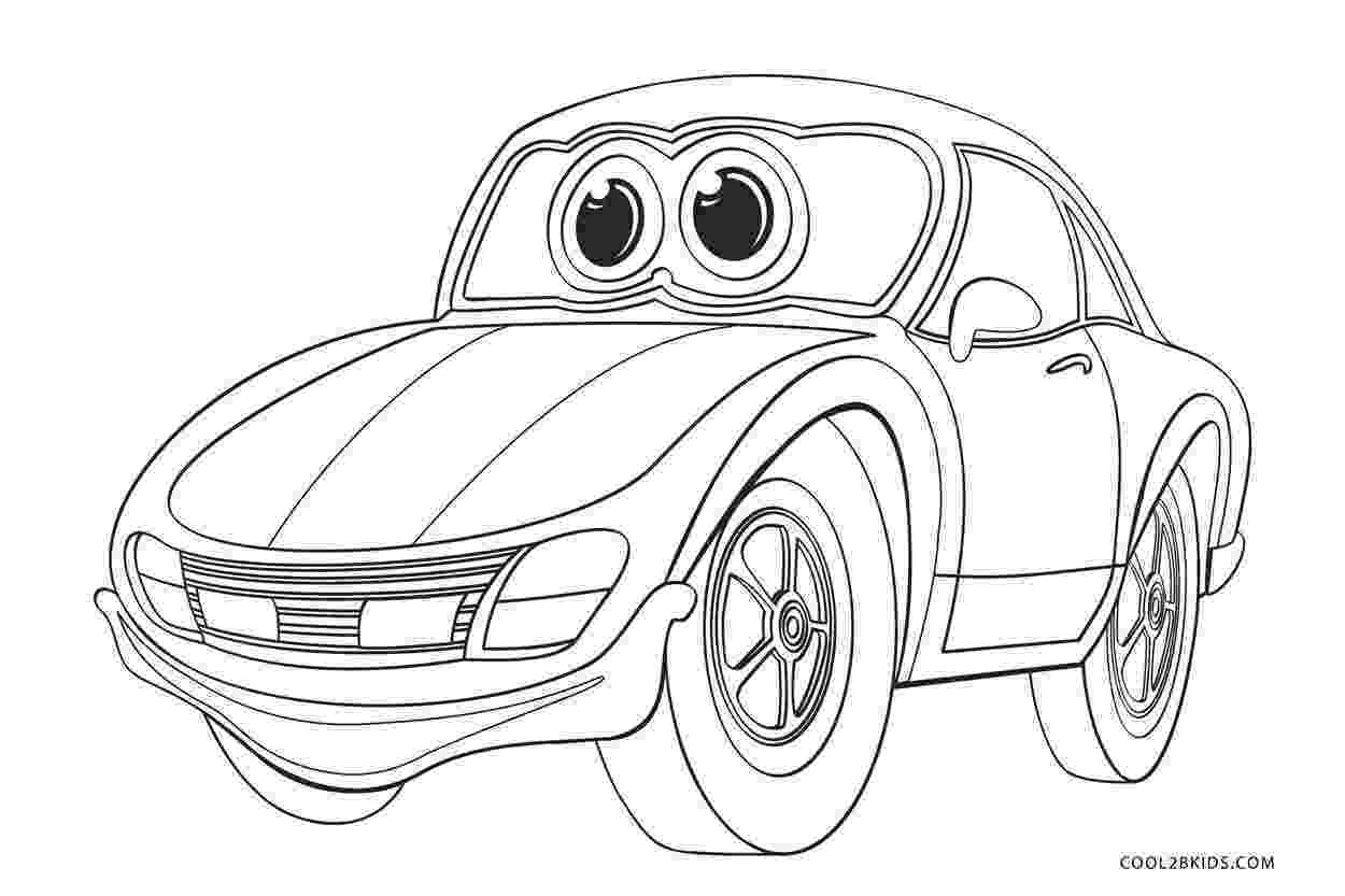 car coloring sheets free printable cars coloring pages for kids cool2bkids coloring car sheets