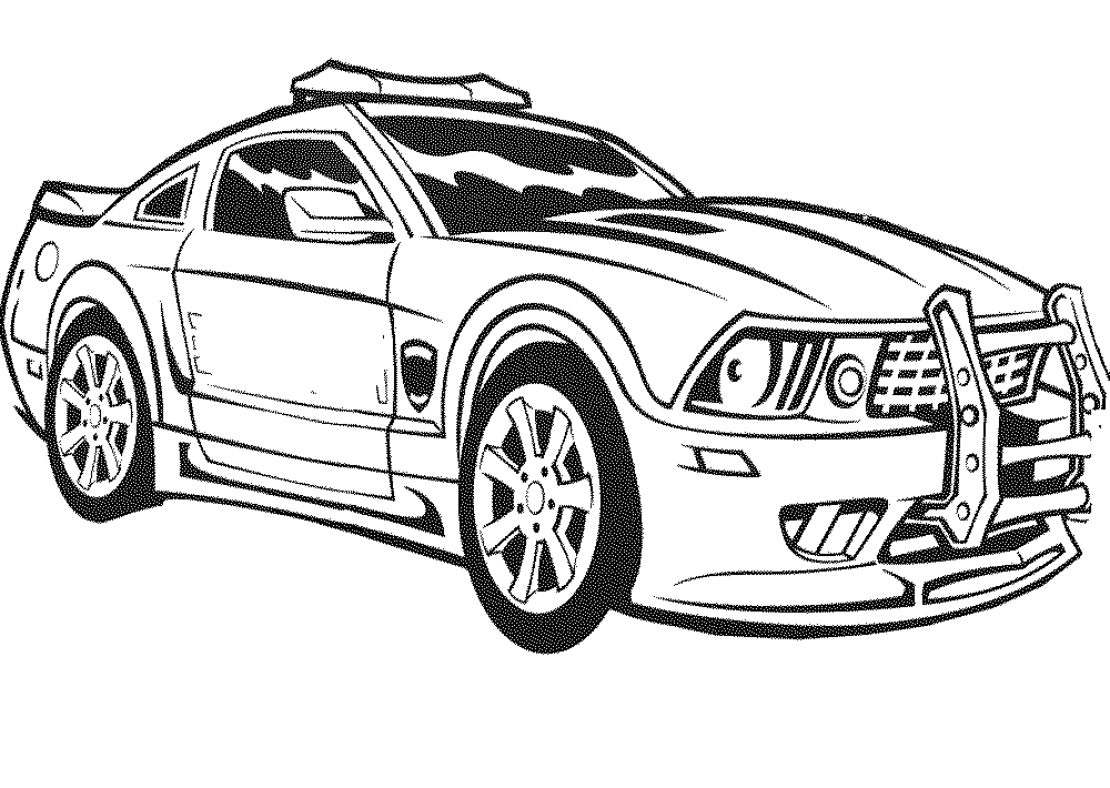 car coloring sheets police car coloring pages to download and print for free sheets coloring car