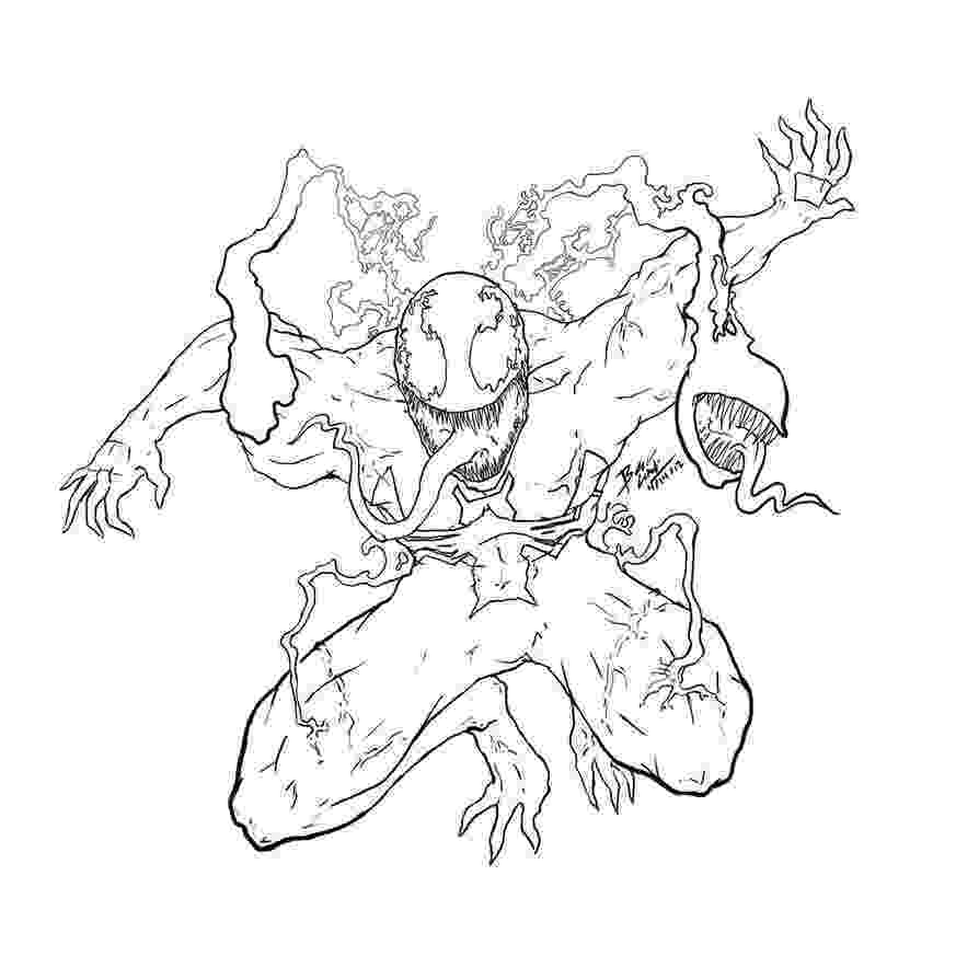 carnage mask carnage coloring pages coloring home carnage mask 1 2