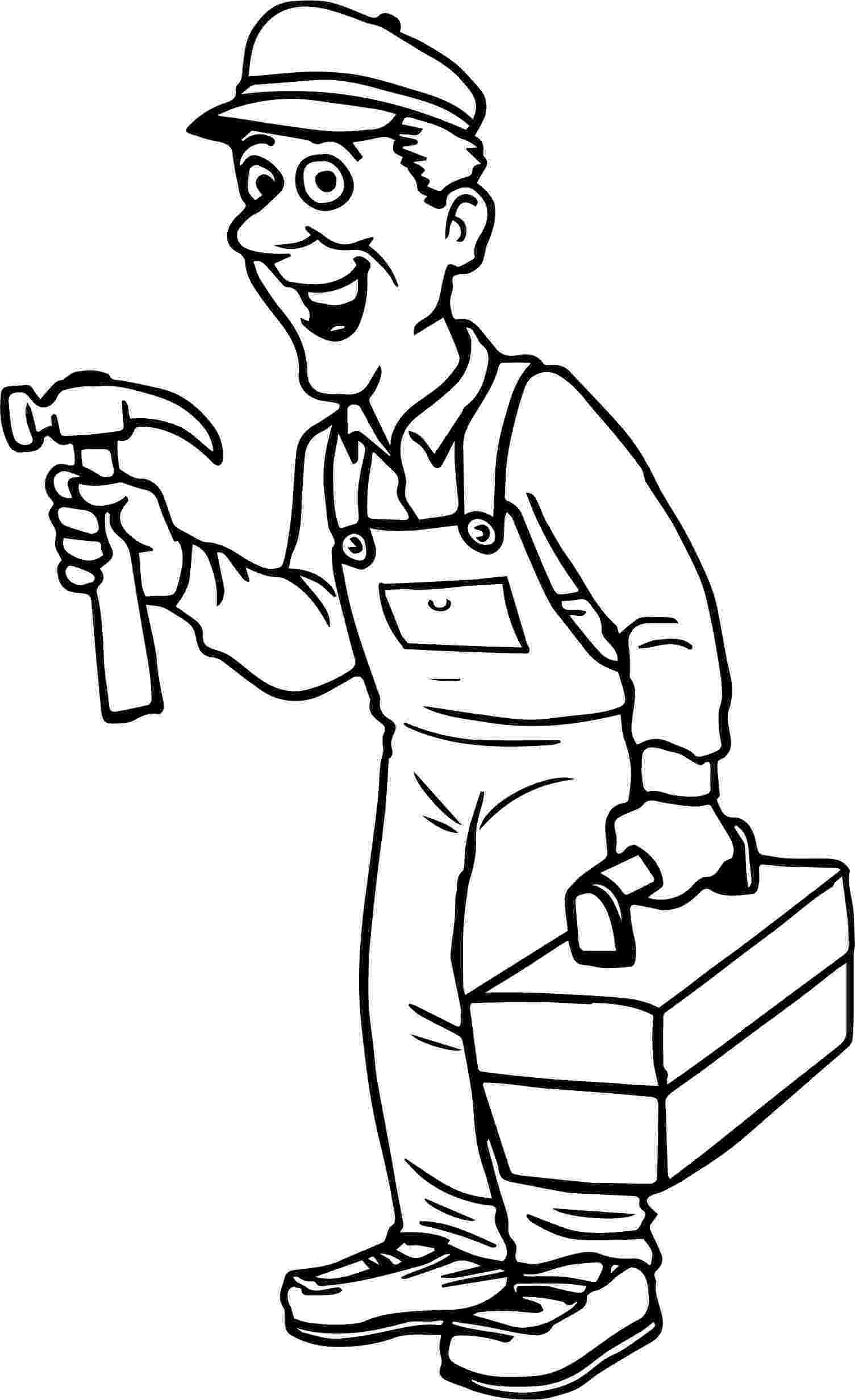 carpenter coloring pages carpenter right time coloring page wecoloringpagecom carpenter coloring pages