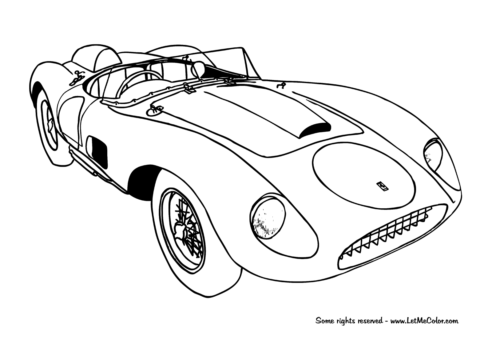 cars color page printable coloring pages of sports cars coloring home cars color page