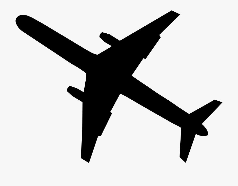 cartoon airplane black airplane silhouette transparent airplane clipart airplane cartoon