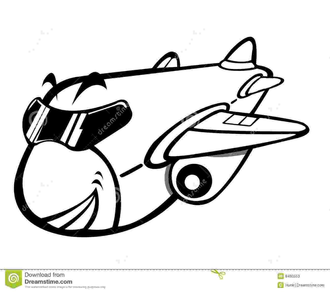 cartoon airplane cute airplane cartoon character stock vector airplane cartoon