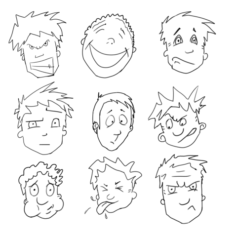 cartoon characters to sketch lynda course foundations of drawing cartoon characters characters cartoon sketch to