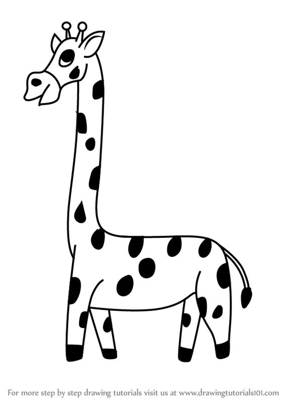 cartoon giraffe baby giraffe drawing giraffe cartoon