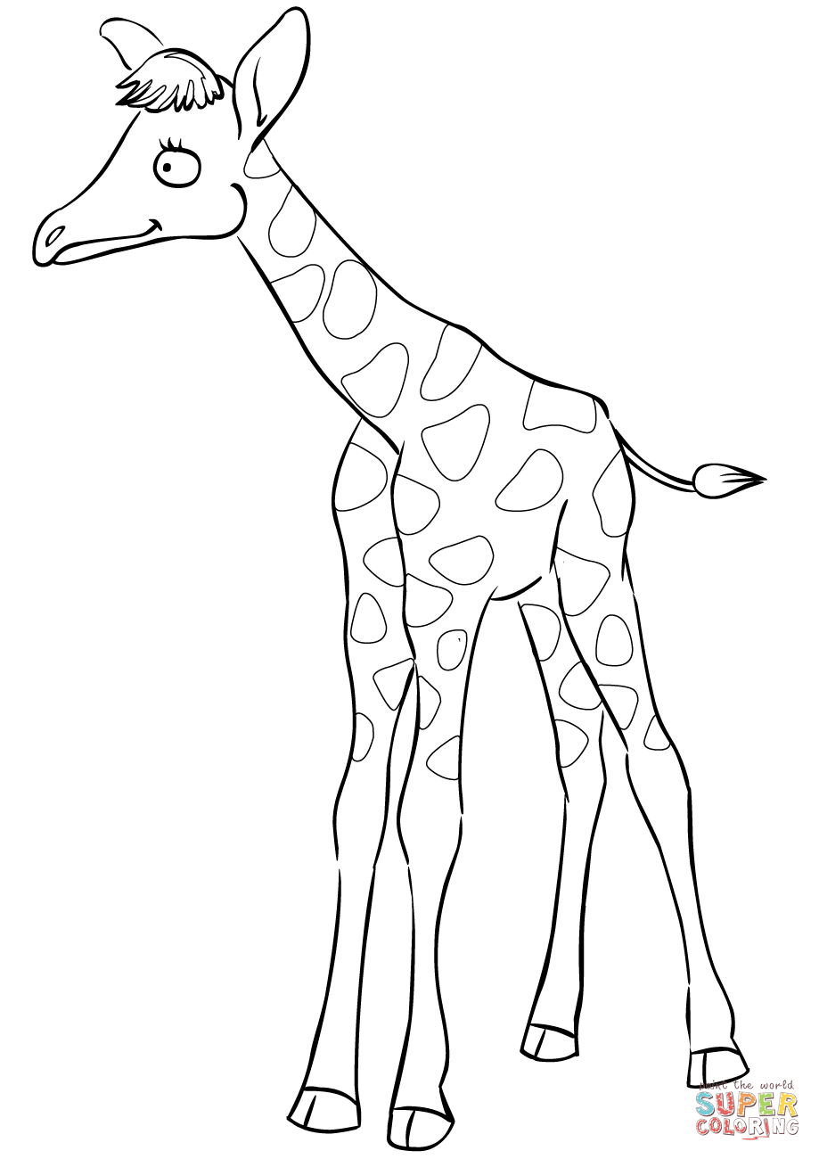 cartoon giraffe step by step how to draw a cartoon giraffe cartoon giraffe