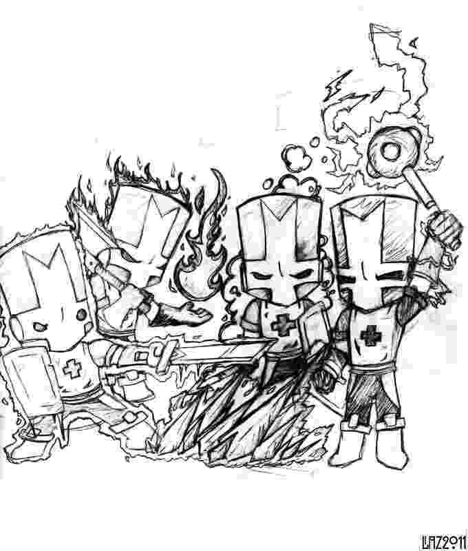castle crashers coloring pages castle crasher free coloring pages coloring castle pages crashers