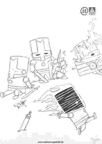 castle crashers coloring pages castle crashers by gromulus on deviantart pages coloring castle crashers