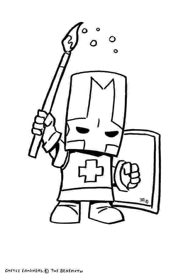 castle crashers coloring pages castle crashers free coloring pages coloring castle pages crashers