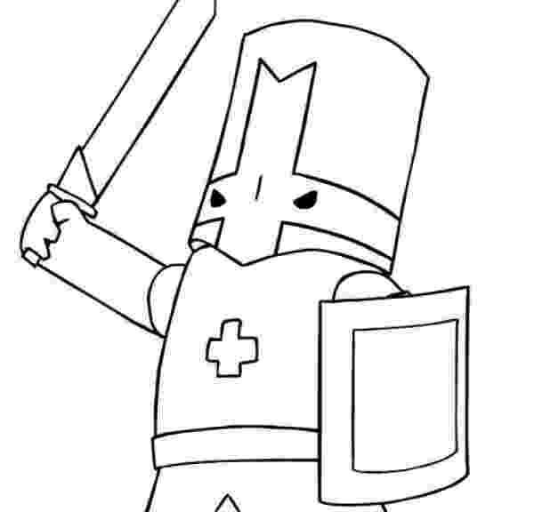 castle crashers coloring pages how to draw castle crashers castle crashers step by step pages castle coloring crashers