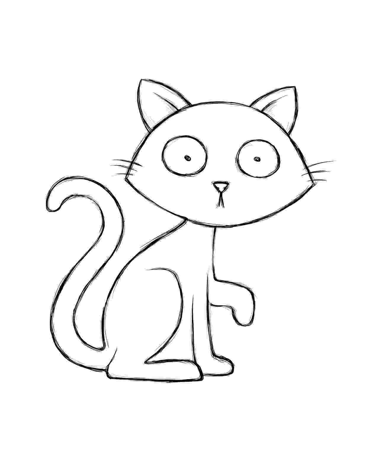 cat color pages free printable cat coloring pages for kids cool2bkids cat pages color