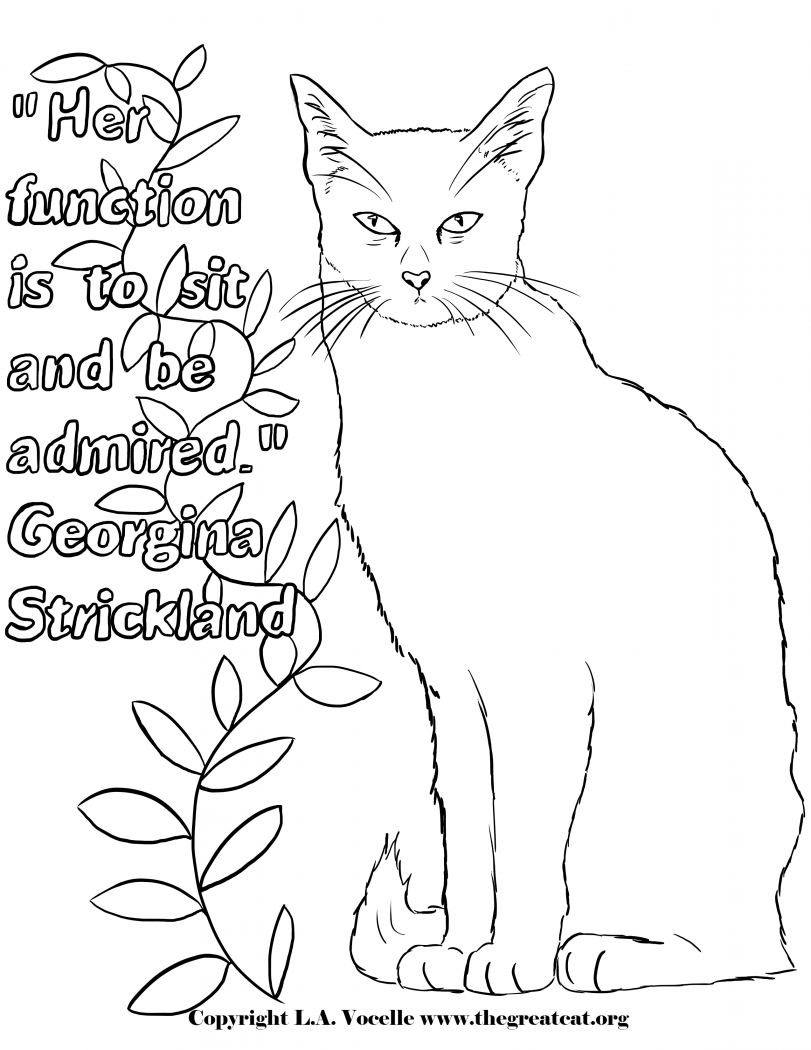 cat coloring sheets cute kitten coloring pages getcoloringpagescom sheets coloring cat