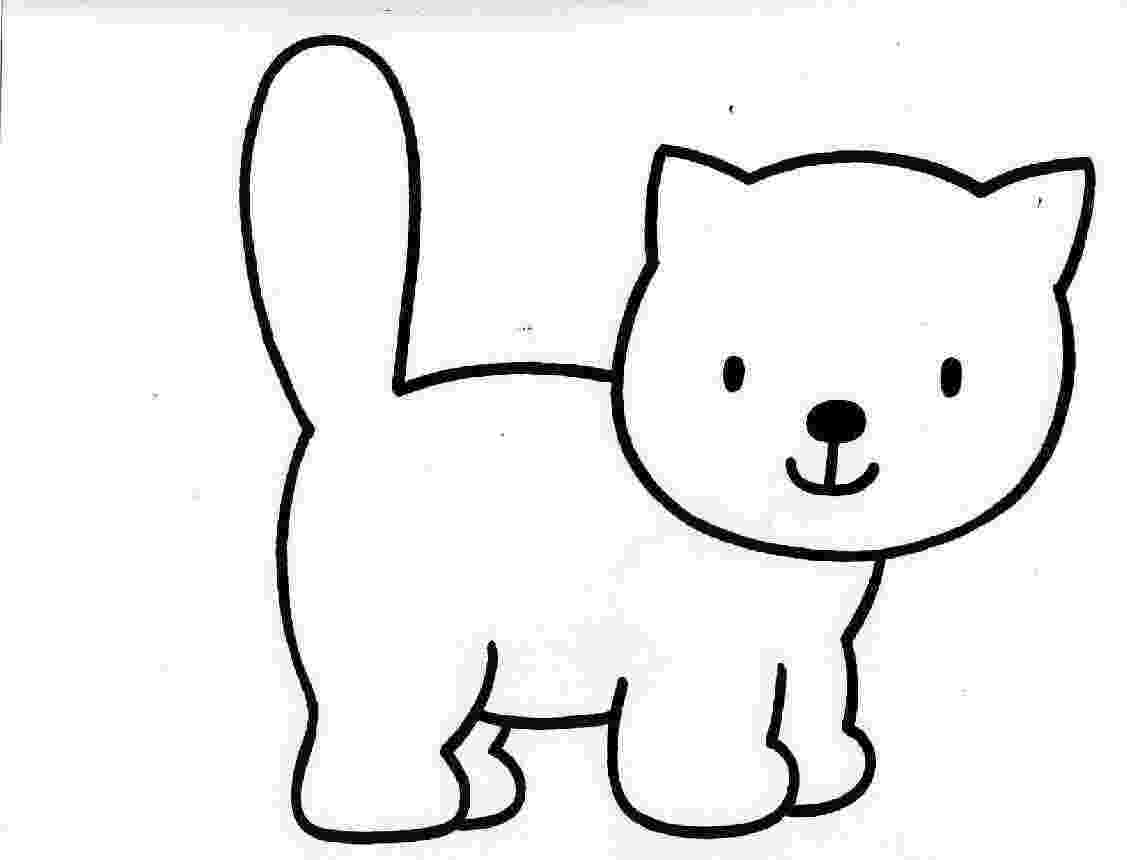 cat pictures for kids to color 60 cat shape templates crafts colouring pages cat to color for pictures cat kids