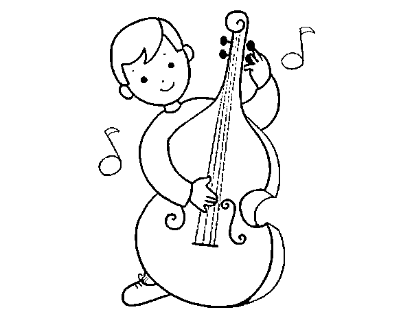 cello coloring page cello coloring page coloringcrewcom cello coloring page