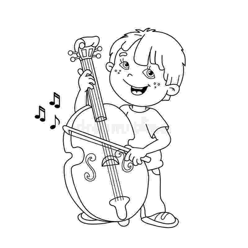 cello coloring page cello coloring page coloringcrewcom page coloring cello