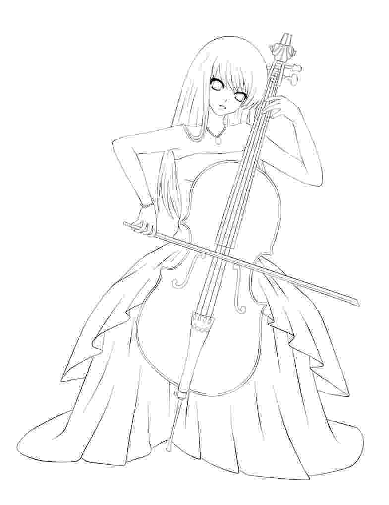 cello coloring page cello coloring pages cello coloring page