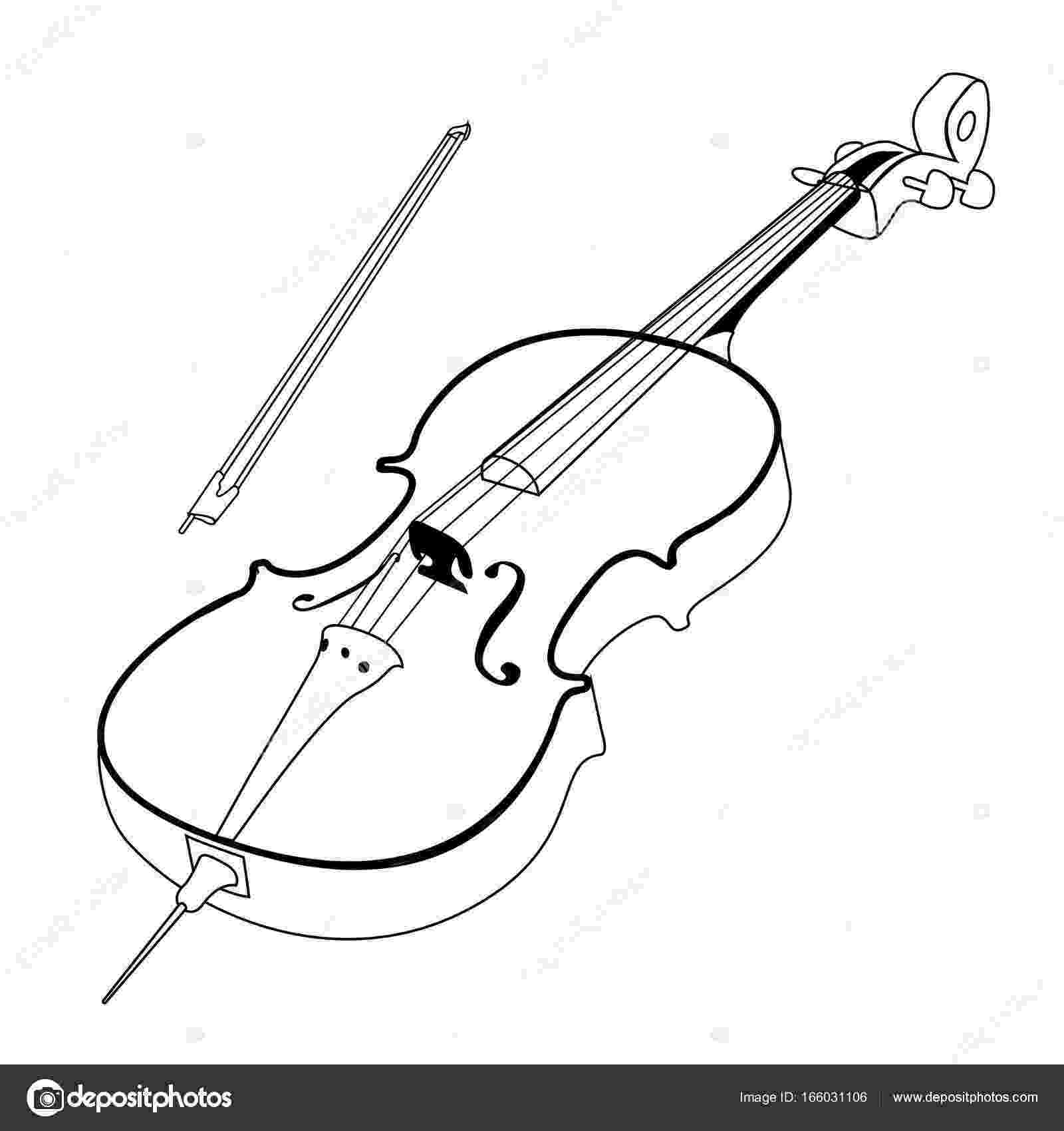 cello coloring page cello coloring pages kidsuki coloring page cello