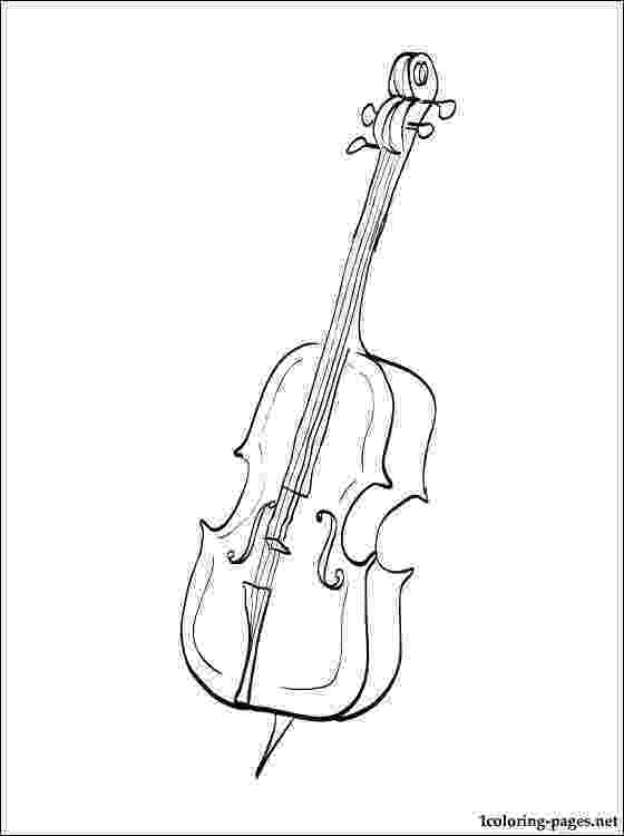 cello coloring page cello drawing at getdrawingscom free for personal use cello coloring page
