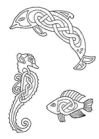 celtic art colouring pages celtic animals designs 3 coloring page color art therapy colouring celtic art pages