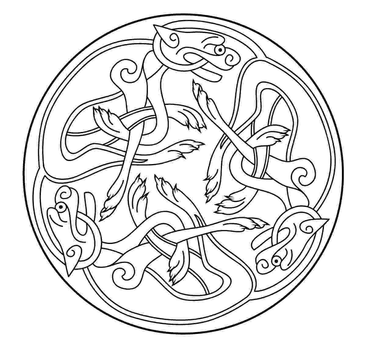 celtic art colouring pages celtic art 58 celtic art adult coloring pages celtic art colouring pages