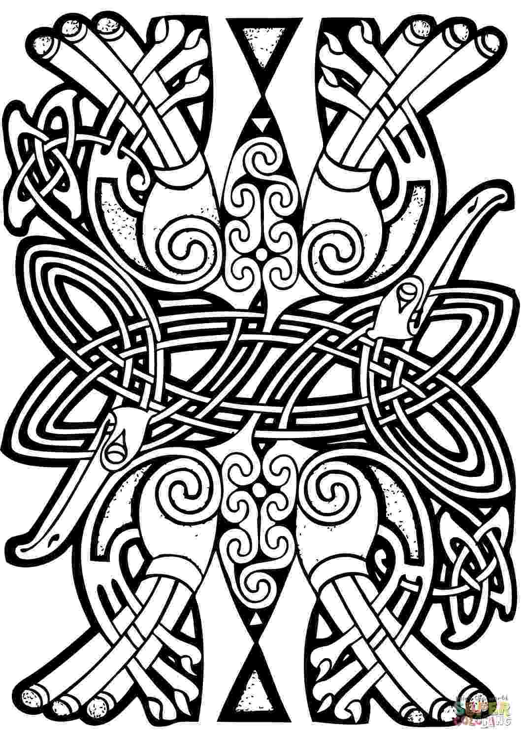 celtic art colouring pages celtic knot coloring pages to download and print for free colouring celtic pages art