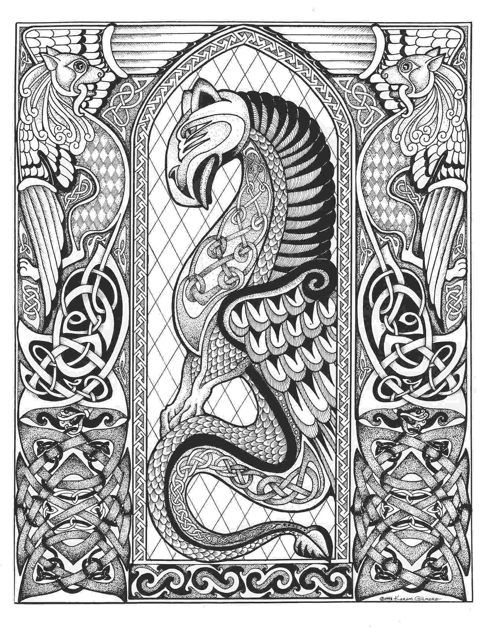 celtic designs embellishing and colouring celtic design karen gillmore art celtic designs