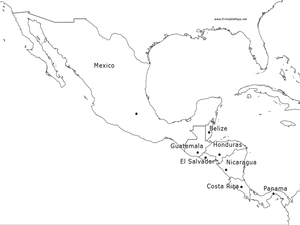 central america map worksheet mexico and central america map 6th 9th grade worksheet map worksheet america central