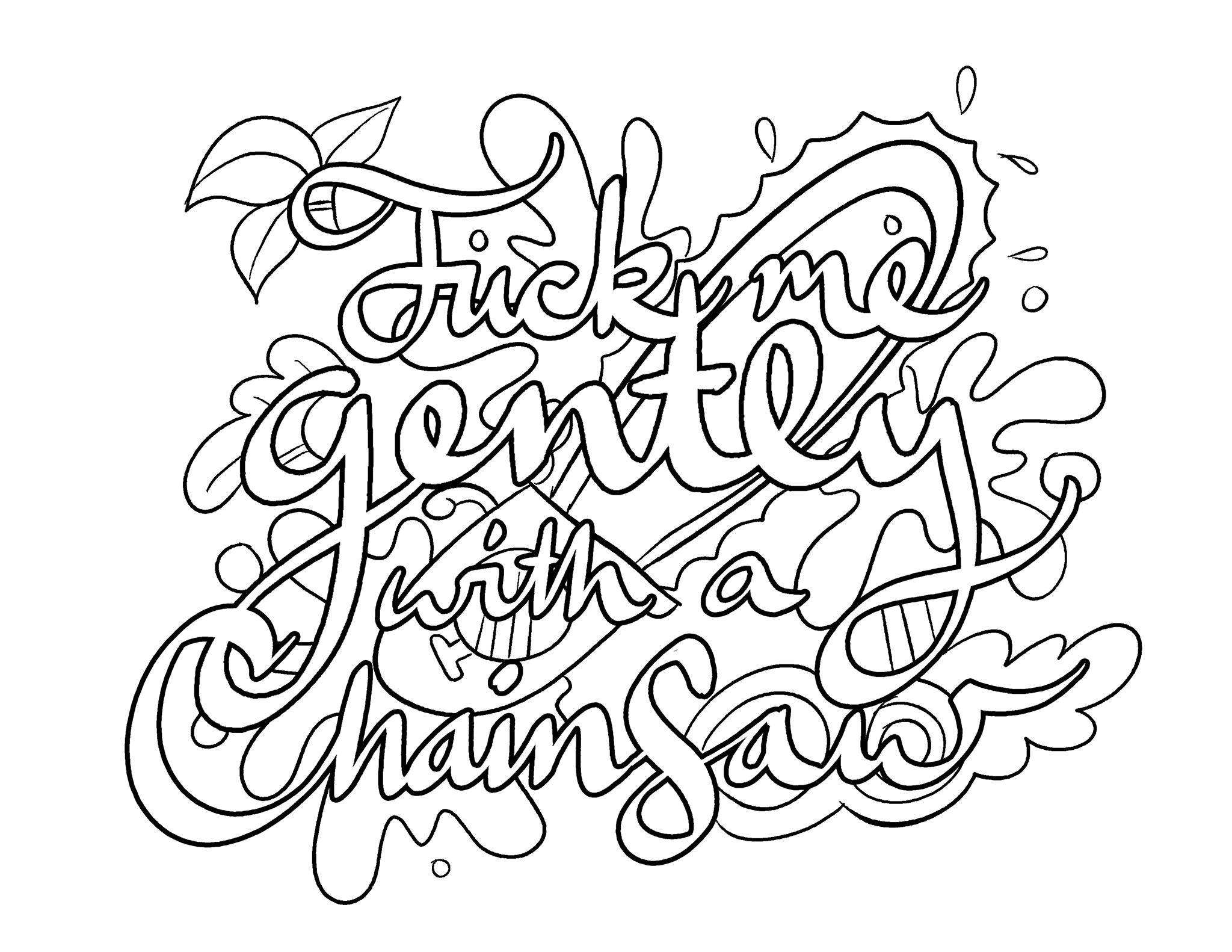 chainsaw coloring pages chainsaw coloring page at getcoloringscom free chainsaw coloring pages