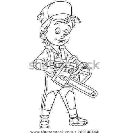 chainsaw coloring pages petrol saw stock images royalty free images vectors pages chainsaw coloring