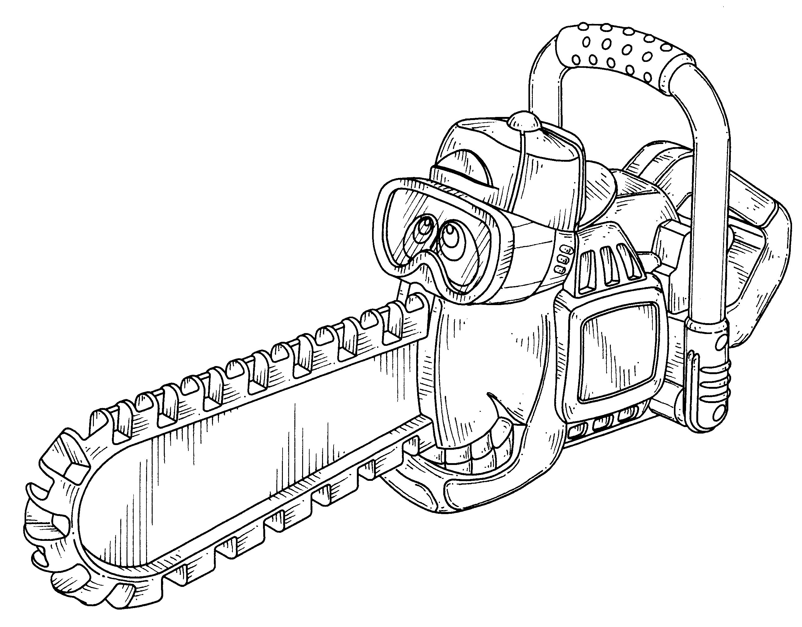 chainsaw coloring pages stihl chainsaw coloring pages chainsaw pages coloring