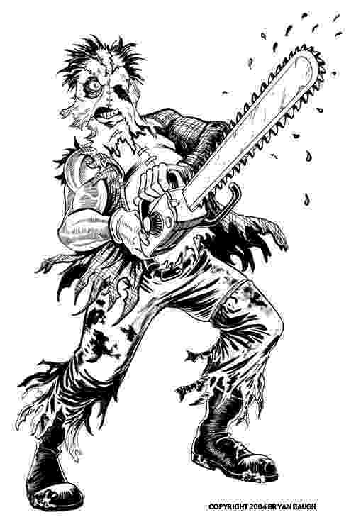 chainsaw coloring pages strikingly idea chainsaw coloring pages coloring coloring chainsaw pages