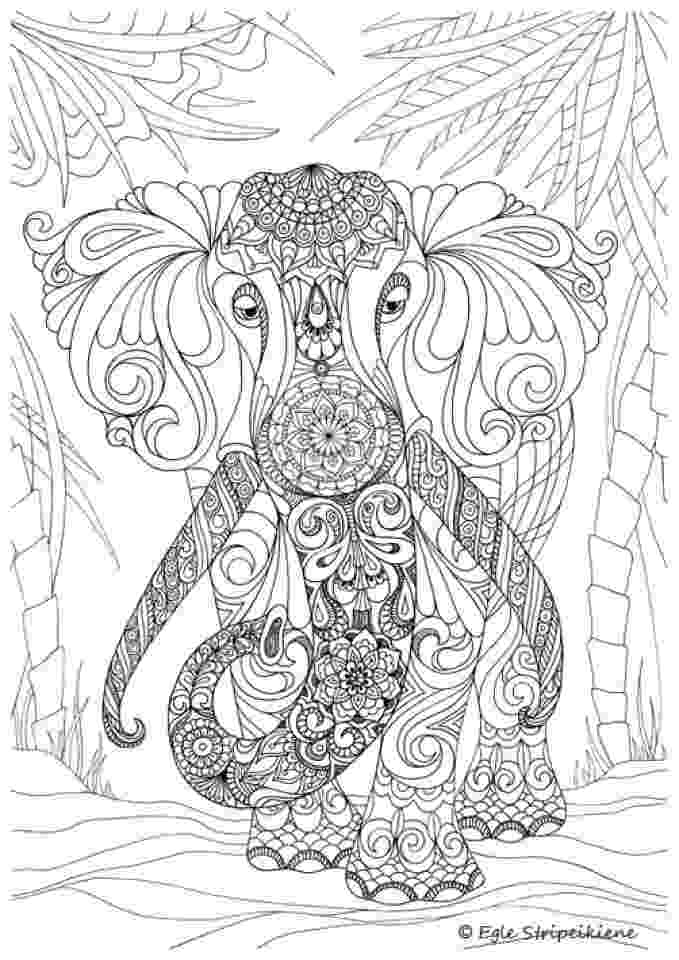 challenging coloring sheets 20 free printable hard elephant coloring pages for adults sheets coloring challenging